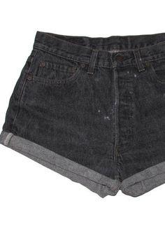 Shorts Levis, Black Denim Shorts, Jeans, Levis Vintage, Moda Vintage, Clarks, Zara, Summer, Women