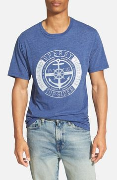 Men's Sperry 'First To Sail' Graphic T-Shirt