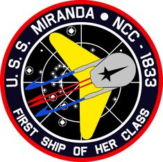 USS Miranda Commissioning Insignia by viperaviator on deviantART