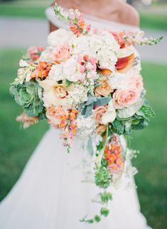 La Mariée en Colère - Galerie d'inspiration, bouquet mariée, mariage, wedding, bride, flowers, fleurs, orange