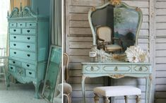 French Shabby Chic Decorating Ideas | ... and Advice » Decorating With Turquoise Furniture: Ideas & Inspiration