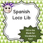 This is a loco lib (similar to a mad lib) that I created for Spanish I or II students, though it would be fun and a great review for any level.  Th...