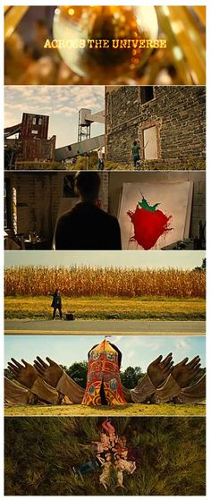 Across the Universe- watched this 3 times yesterday. Plan on doing the same again today
