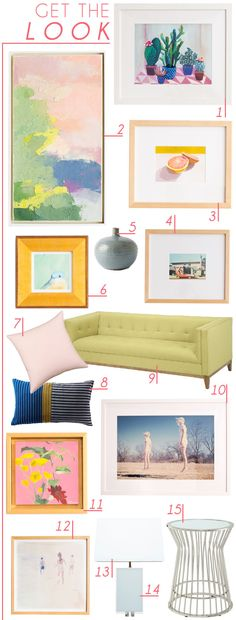 Get_The_Look_Framebridge_Emily_Henderson_Etsy_Pop_Of_Color