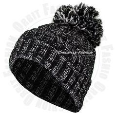 7.95$  Buy now - http://vivna.justgood.pw/vig/item.php?t=1gj8xmh28448 - New Knitted Beanie Cap Pom Pom Winter Warm Knit Crochet Ski Hat Black Men Womens 7.95$