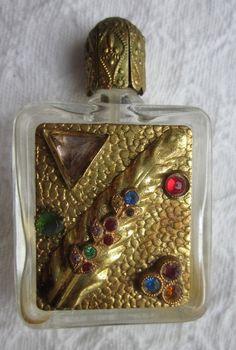 Vintage Austria Miniature Perfume Bottle: