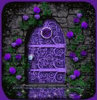 ~ purple door ~