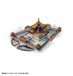 中国经典古建筑剖视图