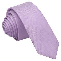 JA Panama Silk Lilac Skinny Tie