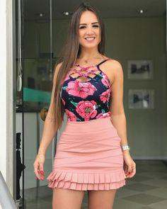 Women S Fashion Trivia Questions Cute Skirt Outfits, Cute Skirts, Cute Dresses, Short Dresses, Summer Dresses, Look Fashion, Girl Fashion, Fashion Outfits, Womens Fashion