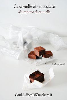 Caramelle morbide al cioccolato: http://conunpocodizucchero.wordpress.com/2013/12/02/caramelle-morbide-al-cioccolato/