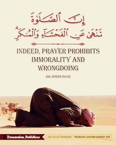 [Al-Quran, Surat Al-'Ankabut 29, Verse 45, Part 21]
