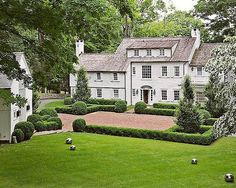 """937 Likes, 10 Comments - The Curated Home (@the_curated_home) on Instagram: """"A fantastic rambling clapboard estate in Westchester County. Photo via Julie Hillman Design. • • •…"""""""