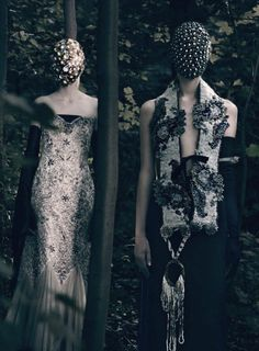 """"""" """"HC's Vagaries"""" Photographed by Paolo Roversi for Vogue Italia September 2013"""