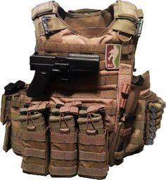 Another customer Rig running AR500 Armor® Body Armor. Happy Friday! www.AR500Armor.com
