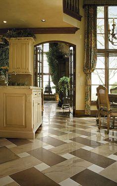 kitchen floor tile patterns 12 x 24 floor tiles design ideas pictures remodel and decor kitchen floor pinterest floor tile patterns - Bathroom And Kitchen Designs