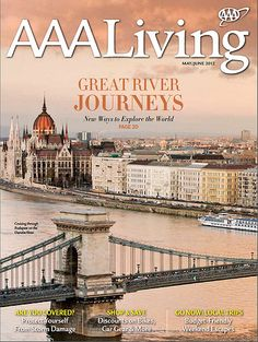 AAA Living magazine cover art from May 2012 #AAALiving #magazine