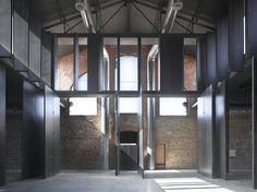 AIB Architecture: MATA_DERO MADRID - CENTRO DE CREACIÓN CONTEMPORÁNEA