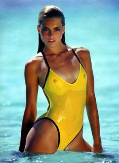 80s - Kim Alexis. American model. Alexis was one of the top models of the 80s, identified along with Gia Carangi, Carol Alt, Christie Brinkley, and Paulina Porizkova. In 1983 she became the face of Revlon's premium Ultima II line.