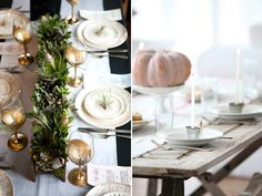 A new kind of greenery.  Awesome, unique centerpieces.  #DIY ideas, #fall #wedding #reception