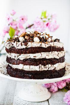 New Recipes, Vanilla Cake, Chocolate Cake, Tiramisu, Oreo, Pancakes, Cheesecake, Food And Drink, Gourmet