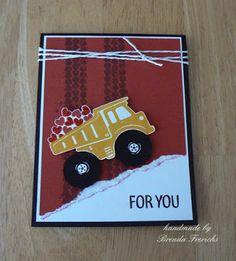 by Brenda Frerichs Birthday Cards For Boys, Valentines For Boys, Birthday Kids, Valentine Cards, Birthday Cakes, Boy Cards, Kids Cards, Heart Cards, Scrapbook Cards