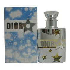 Dior Blue Star By Christian For Woman Fl.oz / 50 Ml Edt Spray Fragrance Dior Fragrance, Dior Perfume, Perfume And Cologne, Perfume Bottles, Christian Dior, Dior Star, Vegan Perfume, Coco Mademoiselle, Beautiful Perfume