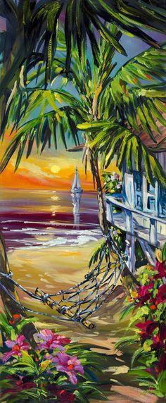 Sunset Bungalow by  STEVE BARTON