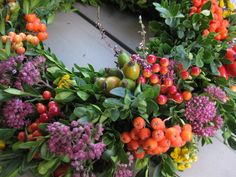 """Herbstkranz """"Herbstleuchten"""" groß von KranzMarie auf DaWanda.com"""