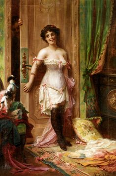 anticipation  -  Hans Zatzka