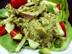 Tailgaiting - Bone Suckin' Avocado Tuna Salad Recipe