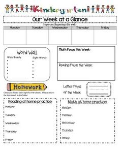 Daily lesson plan template editable free teaching for Week at a glance lesson plan template