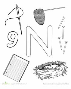 Worksheets: N Is For...