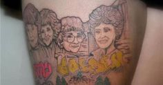 25 Incredible Tattoos Inspired by The Golden Girls
