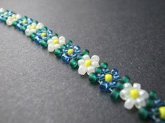 Potawatomi Daisy Chain by Inspirational Beading (Free Tutorial