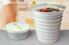El recipiente acordeón, ideal para los que no tienen mucho lugar de guardado. Foto:compradiccion.com