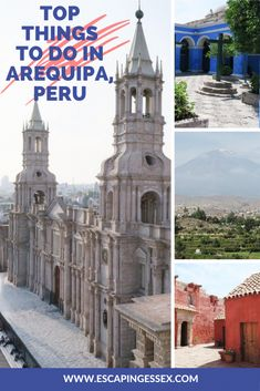 THE BEST THINGS TO DO IN AREQUIPA, PERU Costa Rica Travel, Peru Travel, Travel Usa, Montevideo, Machu Picchu, Bolivia, Ecuador, Patagonia, Rio De Janeiro