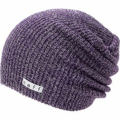 Neff Girls Daily Sparkle Purple Beanie at Zumiez : PDP on Wanelo