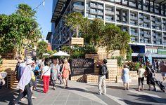 Urban Coffee Farm and Brew Bar by HASSELL Melbourne Australia