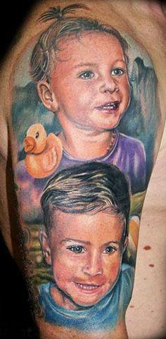 Realism Tattoo by Andre Zechmann - http://worldtattoosgallery.com/realism-tattoo-by-andre-zechmann-6/