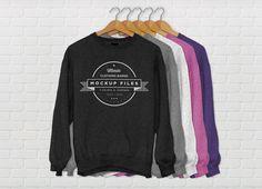 Sweater Mockup Free PSD