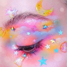 : much is clinique eye makeup remover makeup japanese style makeup deep set eyes makeup with glitter makeup green eyes makeup dark makeup with blue dress makeup types Makeup Drawing, Eye Makeup Art, Cute Makeup, Pretty Makeup, Makeup Inspo, 60s Makeup, Makeup 101, Eyeliner Makeup, Fairy Makeup