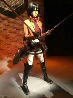 #ShingekyNoKyojin atracción en los Universal Studios Japon