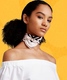 Silk Scarves - How To Wear, Styles | The best silk scarves on the market right now, and how to wear each one. #refinery29 http://www.refinery29.com/best-silk-scarves