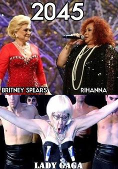 Im sorry but I could not resist..all that is missing is nicki minaj...oh god cannot stop laughing