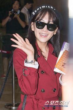 Kang Jiyoung KARA At Gimpo Airport Going To Japan