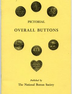 SOLD: Pictorial Overall Buttons Book out of print soft cover book