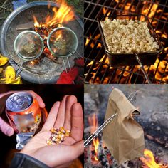 When it comes to camping and RVing, popcorn to us is just like store's - can't camp without them! What's your favorite way of making them on the campfire?