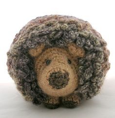 """Hedgie the Hedgehog - Free Amigurumi Pattern - PDF Format - Click to """"download"""" here: http://www.ravelry.com/patterns/library/hedgie-the-hedgehog"""