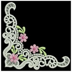 FSL Daisy Borders 08 machine embroidery designs